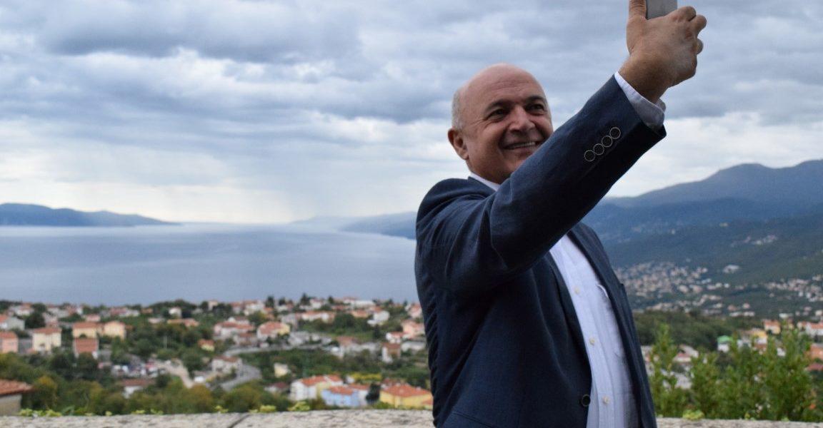 Ljubo Jurčić posjetio Kastav, Viškovo i Čavle