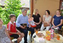 Umjesto završnog skupa – posjet obiteljima s više djece
