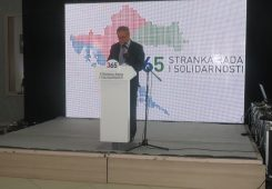Govor predsjednika stranke na obilježavanju 3. obljetnice