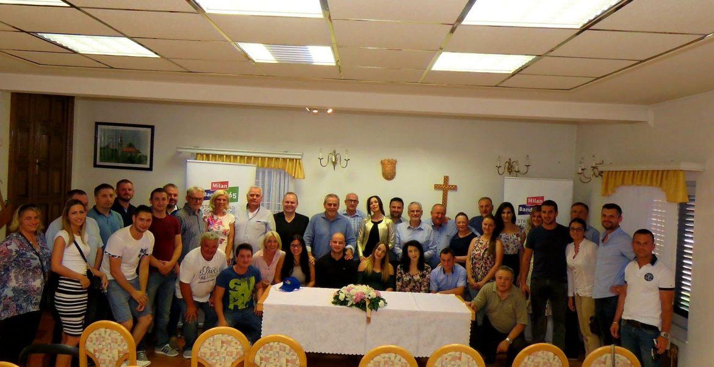 Predstavljena Općinska organizacija Stranke rada i solidarnosti u Općini Pušća!