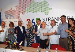 Suradnja Stranke rada i solidarnosti i Nezavisne liste Bura