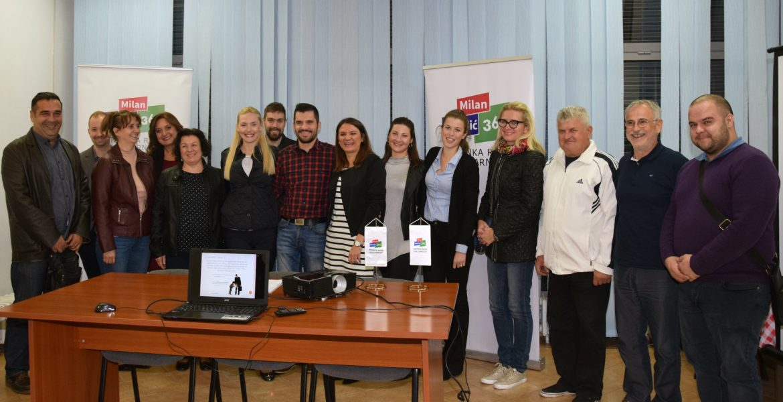 """Stručna edukacija """"Od A do Posla"""" u Mjesnom odboru Trnjanska Savica"""