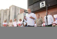 Predstavljanje kandidata Koalicije za Premijera u zagrebačkoj Dubravi