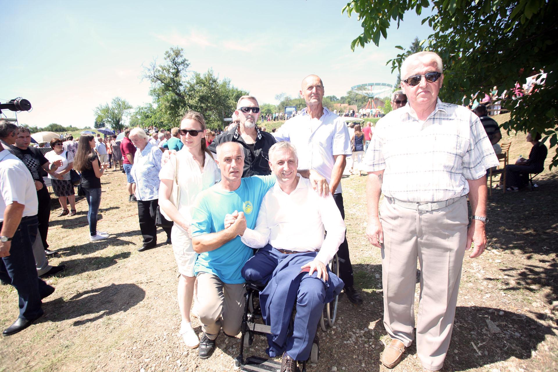 Gora, 15.08.2016.- Miodrag Demo na svetkovini Velike Gospe u Gori kod Petrinje. Foto BM 365