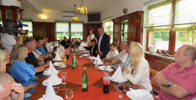 Predstavljena novoosnovana Općinska organizacija u Žumberku