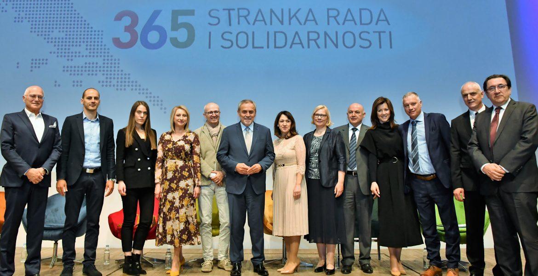 Kandidati za EU palament iz 365 Stranke rada i solidarnosti
