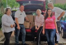 Stranka rada i solidarnosti OGC Gornja Dubrava Zagreb organizirala podjelu paketa s hranom za obitelji stradale u potresu.