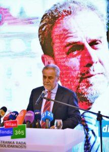 Predstavljanje nositelja izbornih lista i izbornog programa Stranke rada i solidarnosti