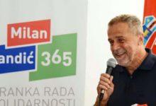 Predsjednik Stranke rada i solidarnosti i nositelj liste u II. Izbornoj jedinici Milan Bandić na sučeljavanju na RTL televiziji!