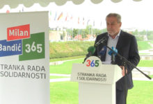 Press konferencija 365 Stranke rada i Solidarnosti na temu: Izborni zakon i Zakon o izbornim jedinicama