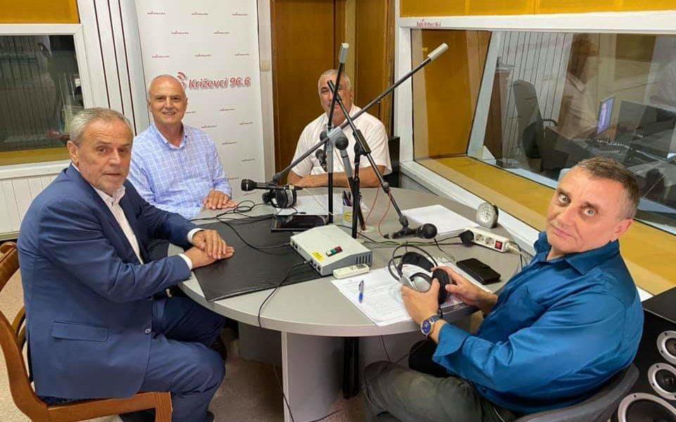 Predsjednik Stranke rada i solidarnosti Milan Bandić uživo na Radio Križevci!
